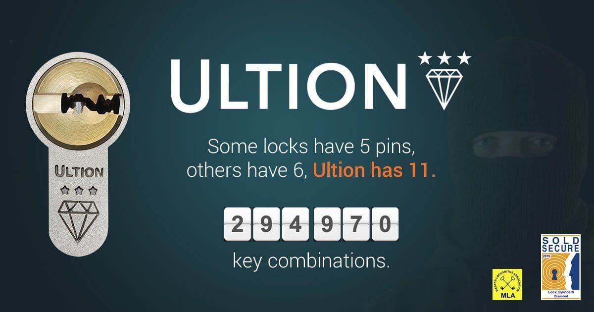 Locksmith Kirkthorpe Ultion Secure Locks Promo